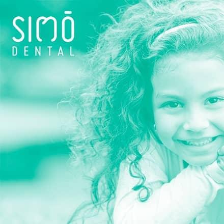 Diseño web para clínica dental Simó en Valencia. Diseño gráfico e identidad corporativa