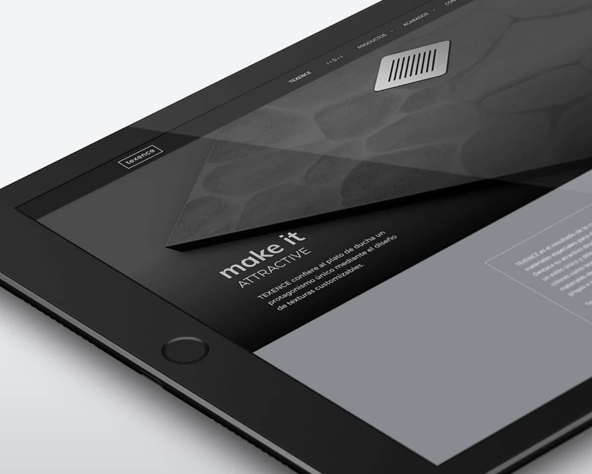 Diseño de página web de Mozing Studio
