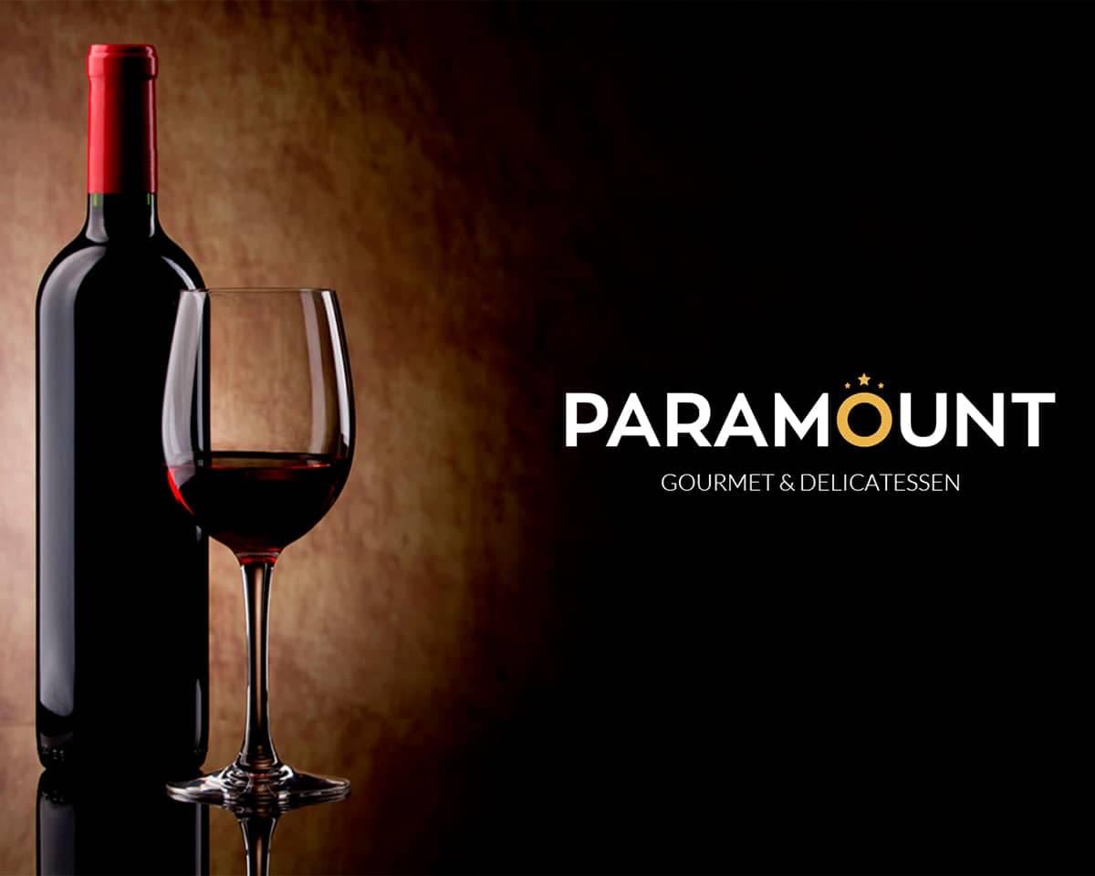 Diseño gráfico y desarrollo web para Paramount Gourmet