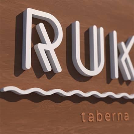 Identidad corporativa y Página web de Ruka Taberna en Valencia