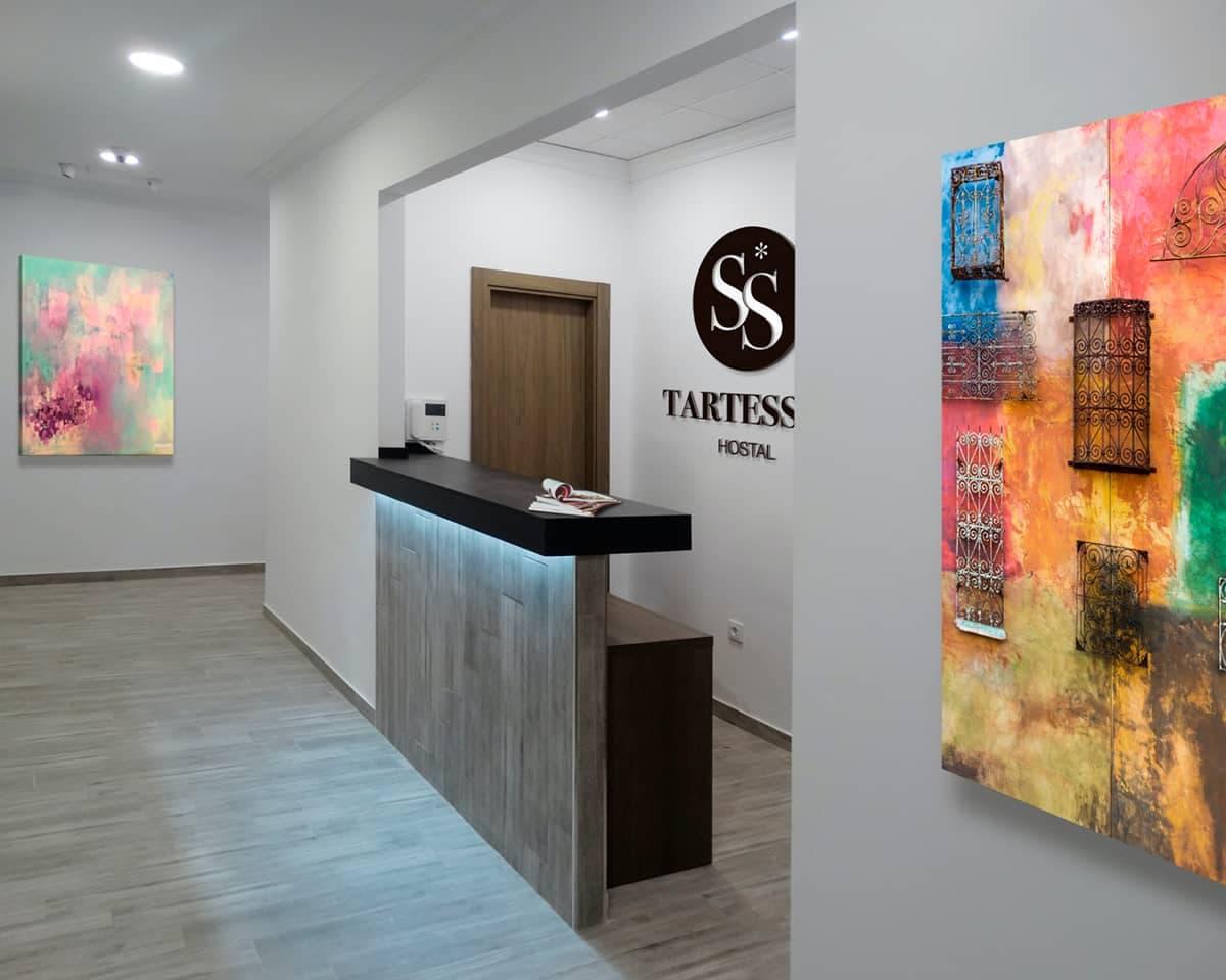 Página Web y Diseño Gráfico para Hotel Tartessos de Valencia
